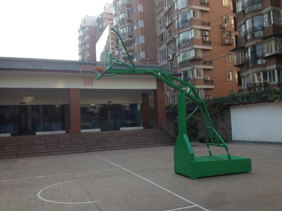 ZH-73带轮移动式篮球架