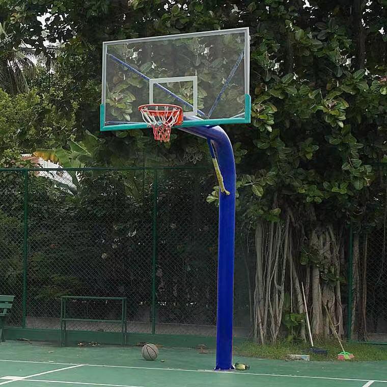 ZH-78圆管预埋式篮球架
