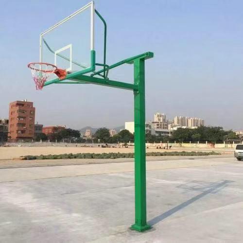 ZH-85方管预埋式篮球架